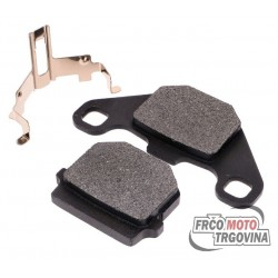 brake pads OEM organic for Aprilia, Hyosung, Peugeot, Derbi, Piaggio, TGB