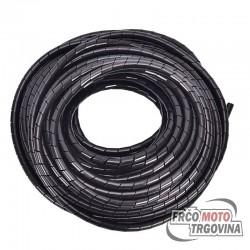 Cevka električne napeljave -150cm - Črna