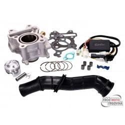 cylinder kit Polini aluminum 70cc for Yamaha Aerox 50 iGET 4V EU4