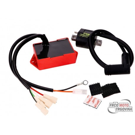 CDI unit adaptive Top Performances Tuning w/ ignition coil for Minarelli AM6