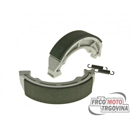 brake shoe set 130x28mm for drum brake for Hyosung GV 125 Aquila