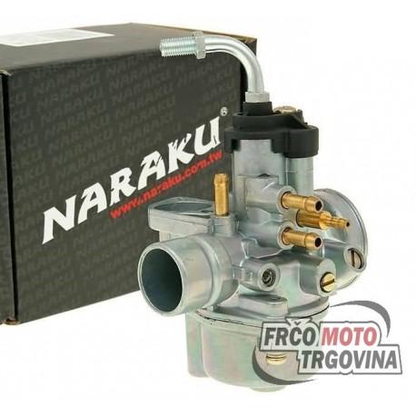 Carburetor Naraku 17.5mm with e-choke prep for Minarelli, Peugeot