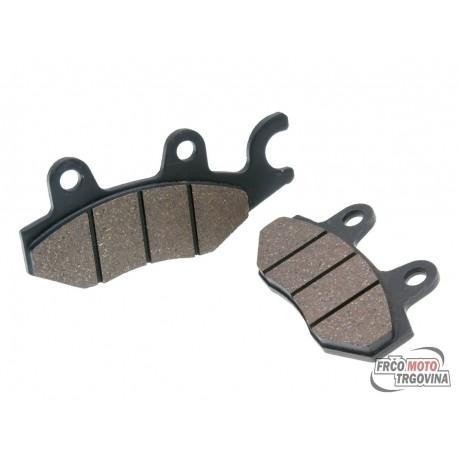 Brake pads for Kymco, Yamaha, Hyosung