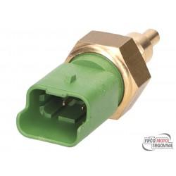 coolant circulation temperature sensor OEM 4-pin for Aprilia, Derbi, Gilera, Piaggio, Vespa