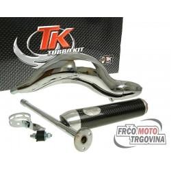 exhaust Turbo Kit Road RQ chrome for Aprilia RS50 (06-)