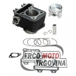 Cylinder kit Top- Trophy 80cc-Piaggio 50cc 4T AC