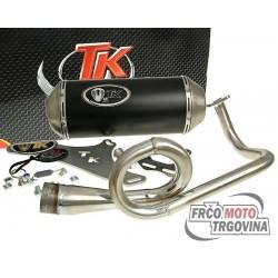 Exhaust Turbo Kit GMax 4T E-marked for Kymco Agility 50, Vitality 4-stroke