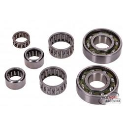 Engine bearing set Naraku for Derbi EBE, EBS, D50B