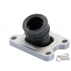 intake manifold Polini 360 21/25mm for Minarelli AM6, Derbi D50B0, EBE, EBS w/ 15-21mm CP, 19-21mm PHBG carburetor