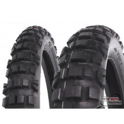 Tire set Vee Rubber VRM-122 80/90-21 & 110/80-18 TT Enduro for Derbi Senda R, Aprilia RX, Beta RR