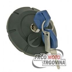 fuel tank cap lockable for Yamaha DT 50 X/R , Malaguti XSM