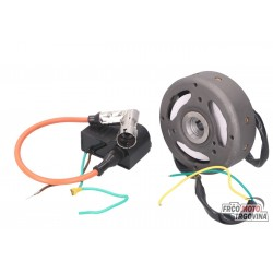 Ignition stator and rotor 12V for Puch Maxi