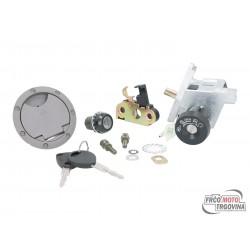 Lock set for Yamaha Aerox, MBK Nitro (97-02)
