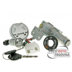 Ignition switch / lock for Peugeot Speedfight 3, 4 AC, LC
