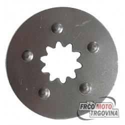 Steel clutch part Tomos APN , ATX , NTX , AT , 4L