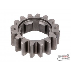 Second speed primary transmission gear TP 16 teeth for Minarelli AM6 2. series