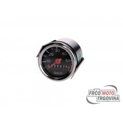 Speedometer univerzal 60 km / h Black for Tomos , Puch , Herkules, Simson
