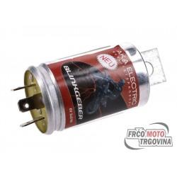 Flasher relay 3 pin 6V 2x21W Simson S50, S51, Schwalbe, Sperber, Star, Habicht, Spatz
