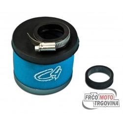 Sports air filter Blue ARIA 19-21-24mm