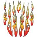 Tribal Flames 20 x 24 cm