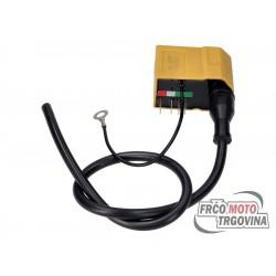 CDI ignition with coil for Minarelli AM6, Derbi Senda (Ducati / Kokusan ignition)