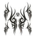Set nalepk  -Tribal cm 20 x 24