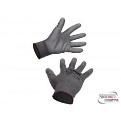 Work gloves nitrile coated size 8/M