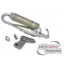 Exhaust Tecnigas RS II chrome for Piaggio Maxi 125-180cc 2-stroke