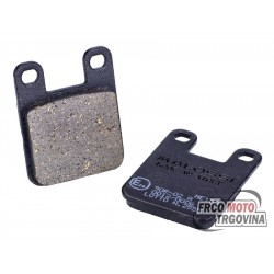 Brake pads Malossi KBA organic for Derbi , Gilera , Italjet , Peugeot