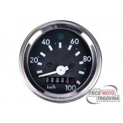 Speedometer AKA Electric round 60mm 0-100km/h