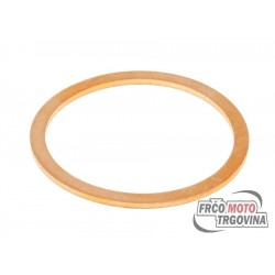 Exhaust gasket 32x38x1.5mm for Piaggio 125-300 4-stroke