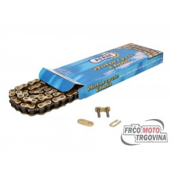 Chain AFAM reinforced gold 420 R1-G x 136
