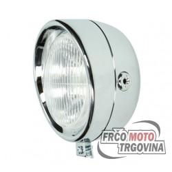 Prednja luč 130mm Chrome - Tomos / Puch