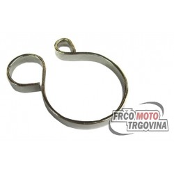 Chrome spring clamp for front forks A3, A35, APN