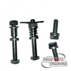 Tomos 4L / APN / 14V / 15SLC rear spring shock absorber bolt set