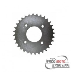 Rear sprocket 35 teeth for Tomos BT 50 , Tomos AT