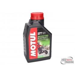 Oil-Motul Scooter Expert 2T, 1L