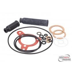 Carburetor gasket set Dellorto for PHF carburetor