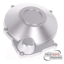 Engine ignition cover / alternator cover silver-grey for Minarelli AM6