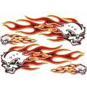 Sticker Flammes kit  35 x 25 cm