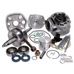 Cylinder kit and crankshaft Top Performances Racing 86cc 44mm Derbi D50B0