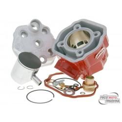 Cilinder kit Airsal Xtrem 80ccm 50mm Derbi Motor D50B0