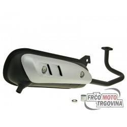 Exhaust 101 for 139QMB GY6 50cc China 4-stroke 12/13