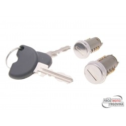 Lock set lock cylinder for Piaggio Fly, Liberty Zip 50