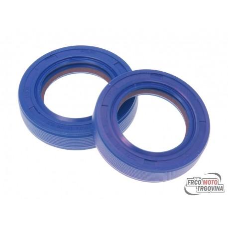 Shaft seal set crankshaft Polini FKM / PTFE for Piaggio  Gilera