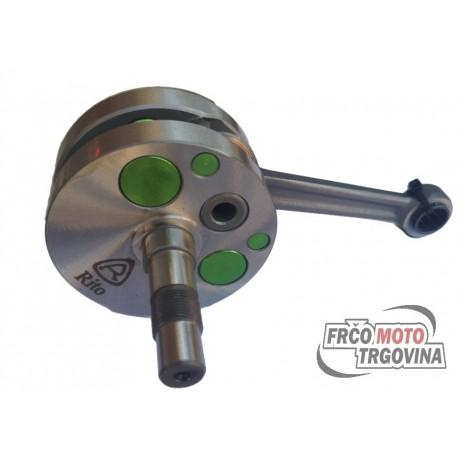 Crankshaft Rito Race Evo2 -12 mm Tomos APN, 4L , NTX , ATN,BTN,Solifer - series 4