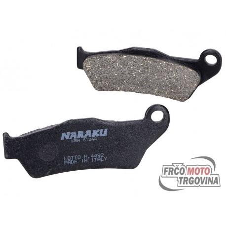 Brake pads Naraku org. MBK Skyliner, Yamaha Majesty, Piaggio X9, Gilera Nexus, GP800, Suzuki UH Burgman 125, 150
