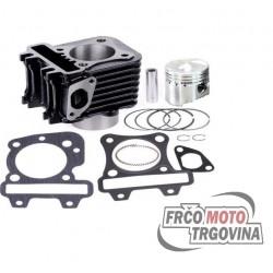 Cylinder kit Piaggio 4T -2V -R4Racing Pro 73ccm