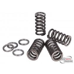 Clutch springs Polini reinforced for Minarelli AM4, AM5, AM6