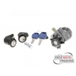 Lock set for Peugeot Elystar TSDI , Elyseo 125